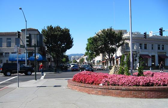 Burlingame Avenue in Burlingame, California