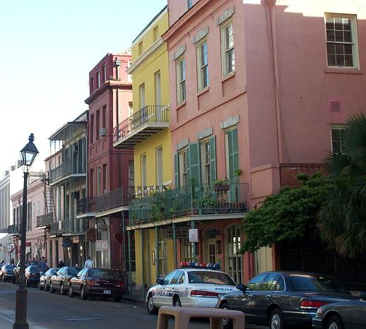 French Quarter in New Orleans, Louisiana