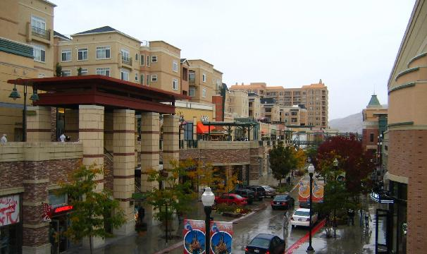 Gateway District in Salt Lake City, Utah