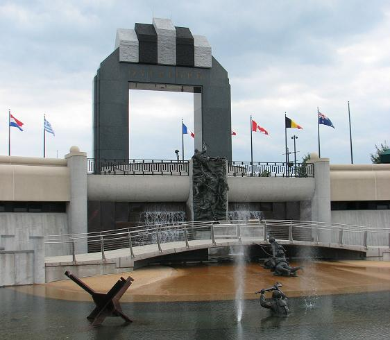 National D-Day Memorial in Bedford, Virginia
