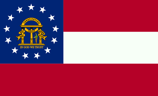 Georgia Flag - pictures and information about the flag of Georgia