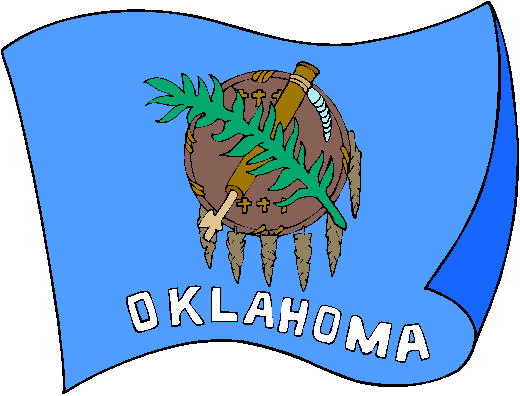 Oklahoma Flag - pictures and information about the flag of Oklahoma
