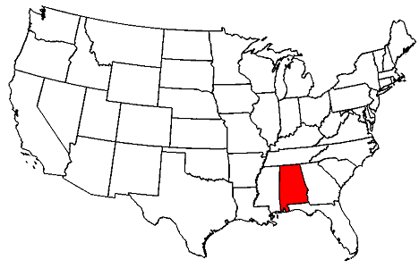 Alabama location