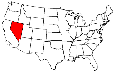 Nevada Maps - map of Nevada