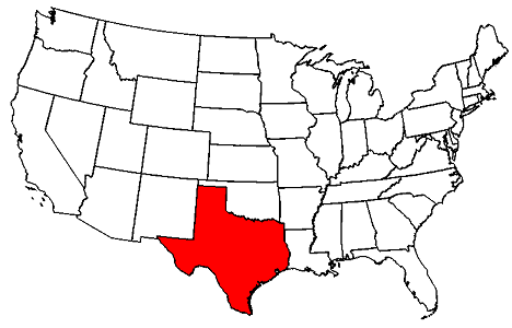 Texas Maps - map of Texas