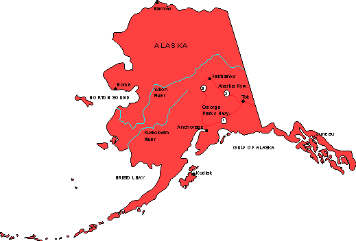 Alaska Maps Map Of Alaska - Alaska maps