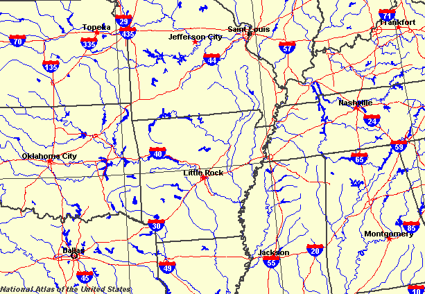Arkansas Maps Map Of Arkansas - Maps of arkansas