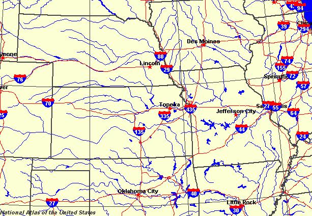 Kansas Maps Map Of Kansas - Detailed map of kansas