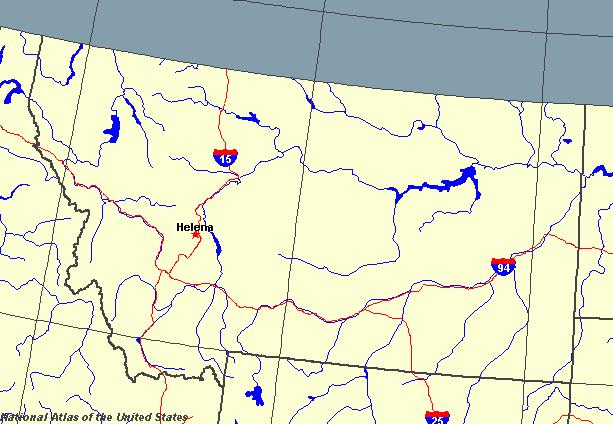Montana Maps Map Of Montana - United states map montana