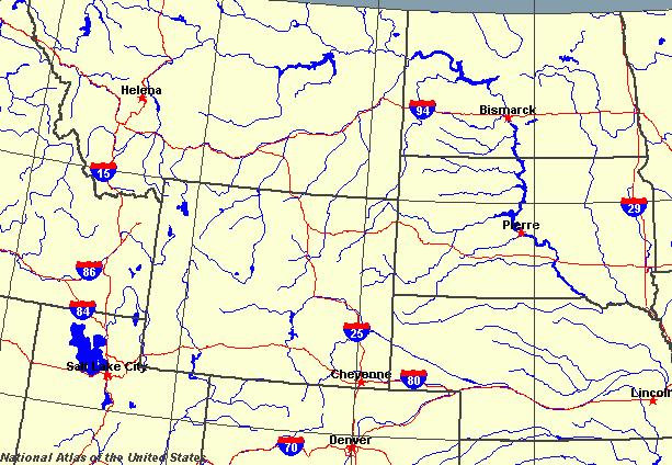 Wyoming Maps Map Of Wyoming - State map of wyoming