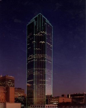 Bank of America Plaza in Dallas, Texas