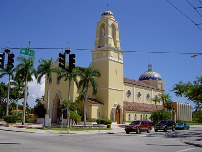 Cathedral of St Mary in Miami, Florida