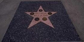 Hollywood Walk of Fame in Los Angeles, California