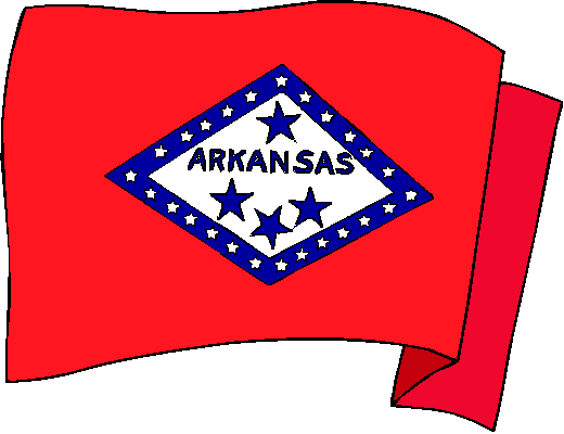 Arkansas Flag - pictures and information about the flag of Arkansas