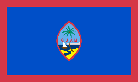 Guam Flag - pictures and information about the flag of Guam