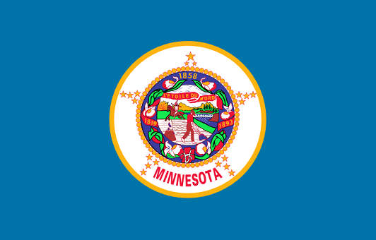 Minnesota Flag - pictures and information about the flag of Minnesota