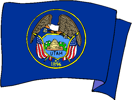 Utah Flag - pictures and information about the flag of Utah