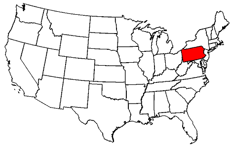 Pennsylvania location