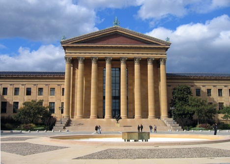 Philadelphia Museum of Art in Philadelphia, Pennsylvania